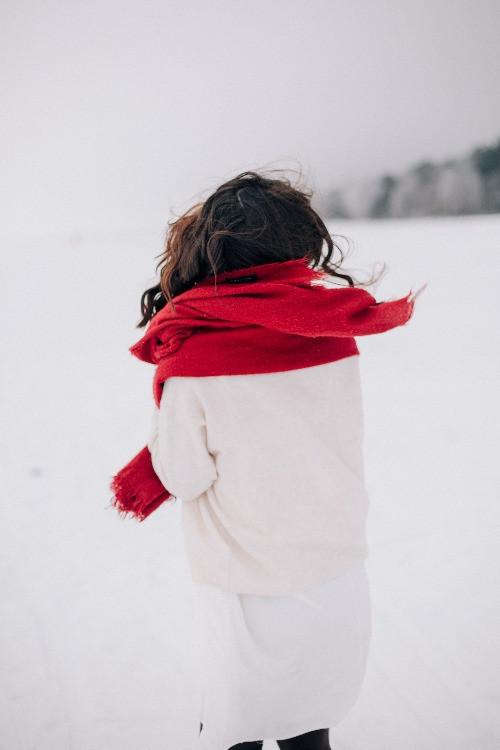 Winter Frau Schnee | myGiulia