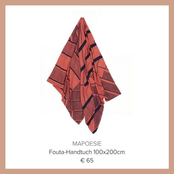 Mapoesie Fouta Handtuch
