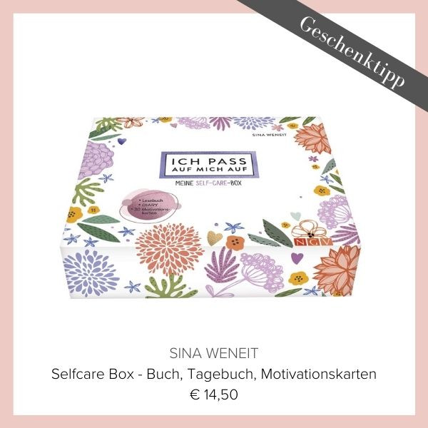 Self Care Box Motivationskarten