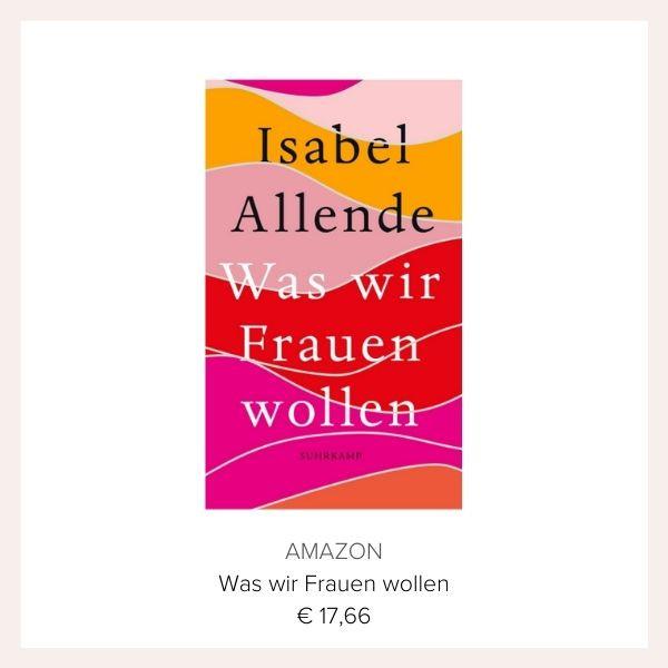 Buch Isabel Allende Was wir Frauen wollen