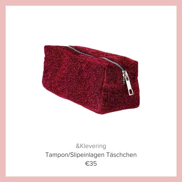 Tampon Tasche rot Klevering | myGiulia
