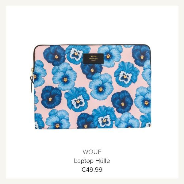 WOUF Laptoptasche Blumen