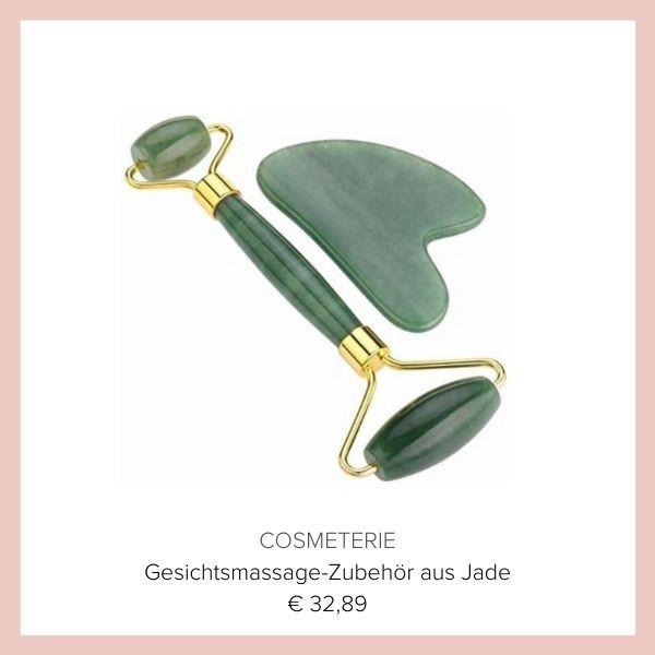 Gua Sha Wellness Roller Gesicht Jade