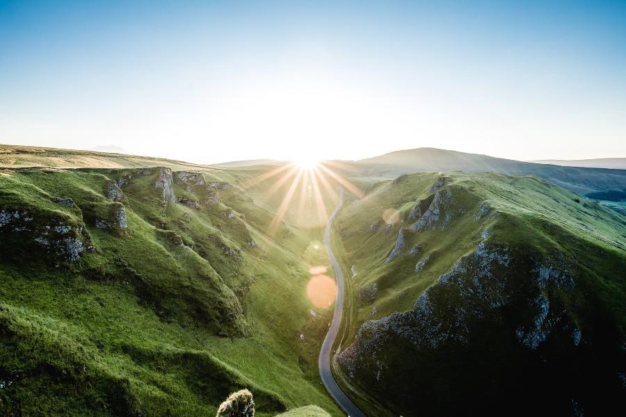green hills sunshine road green energy