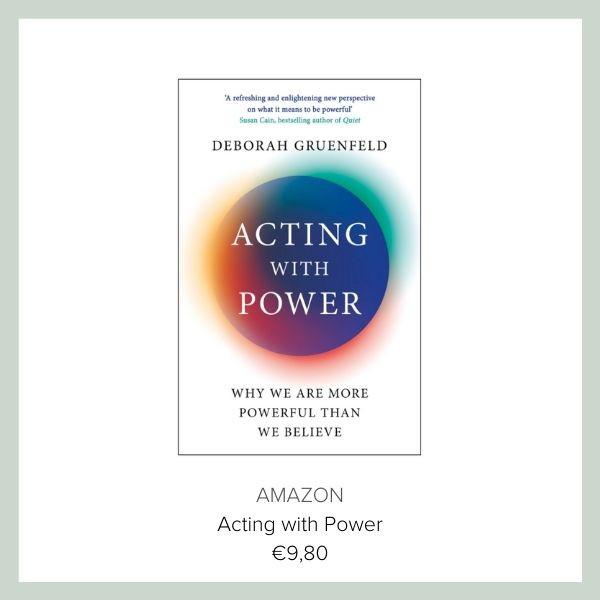 Book Deborah Gruenfeld Acting with power