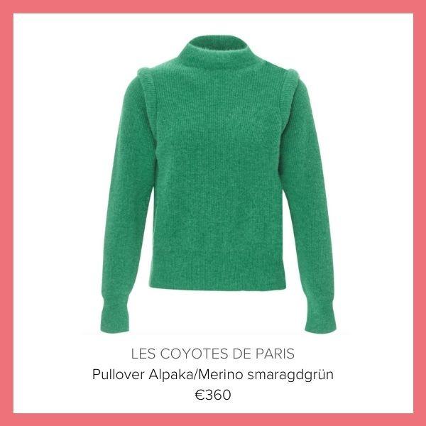 Coyotes de Paris Pullover gruen | myGiulia