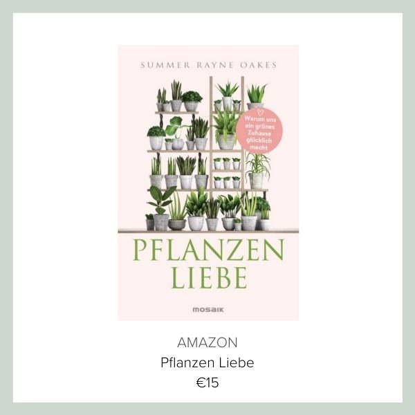 Buch Pflanzen Liebe