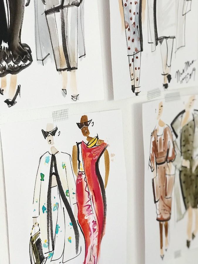 Mode Design Skizze Kleider nach der Pandemie myGiulia