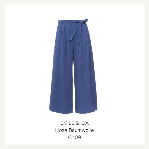 blaue Hose Emile & Ida