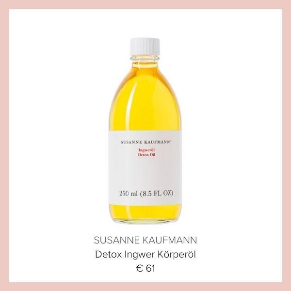 Susanne Kaufmann Ingwer Oel