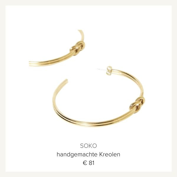 Soko Maxi Ohrringe gold