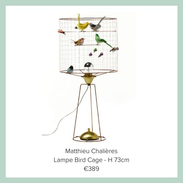 Matthieu Chalieres Lampe Voegel | myGiulia