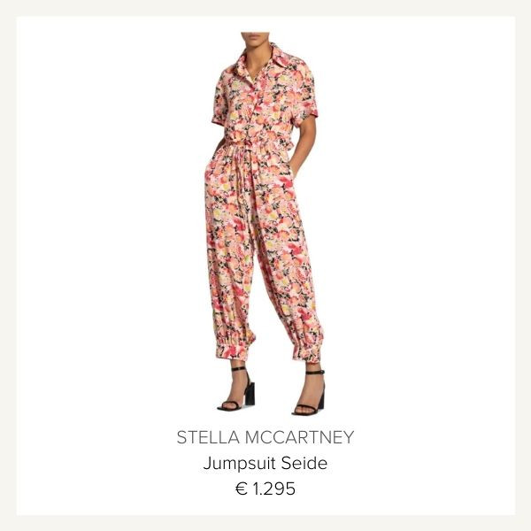 Stella McCartney jumpsuit seide