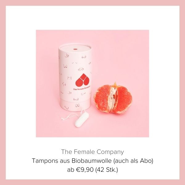 Baumwoll Tampon The Female Company | myGiulia