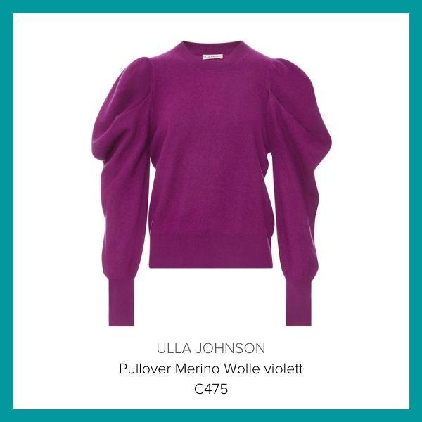 Ulla Johnson Pullover violett | myGiulia