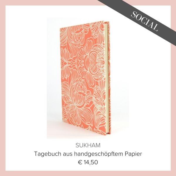Sukham Tagebuch Lotuspapier