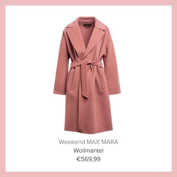 Mantel rosa Max Mara Weekend | myGiulia