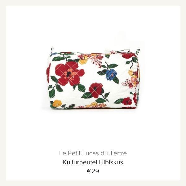 Le Petit Lucas De Tertre Kulturbeutel Hibiskus