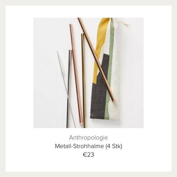 Anthropologie Metall Strohhalme | myGiulia