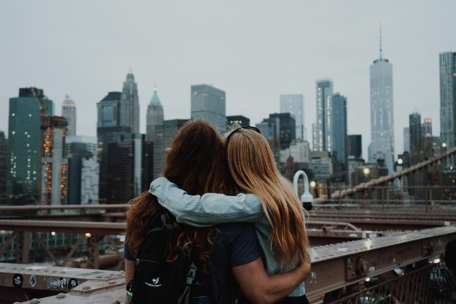 beste Freundinnen skyline