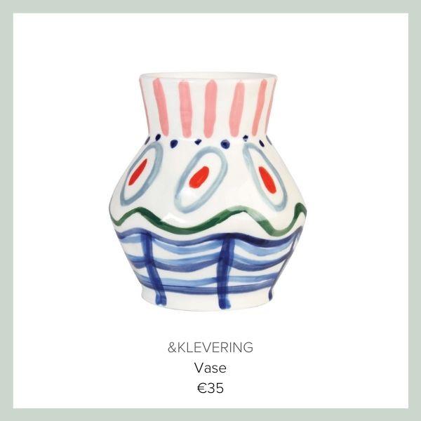 Klevering Vase bunt