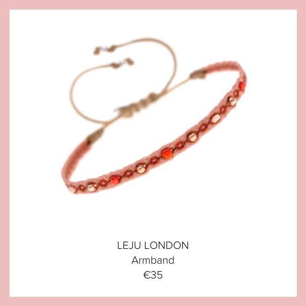 Leju London Armband rot | myGiulia