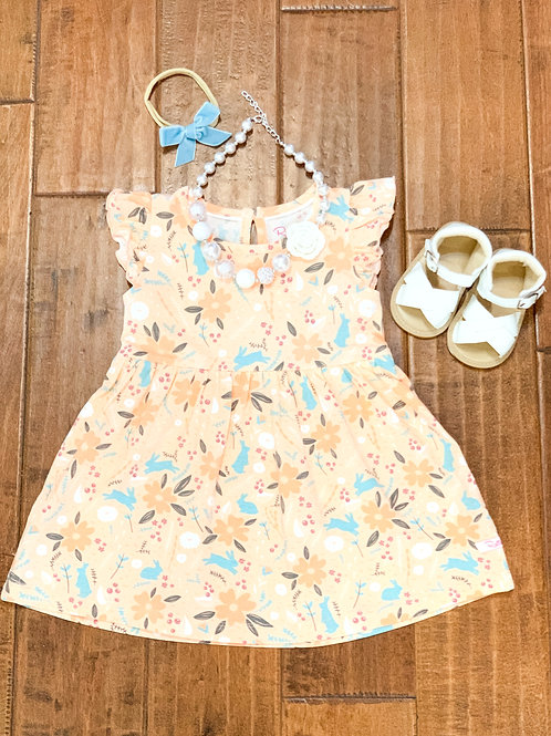 Hoppily Ever After Flutter Dress