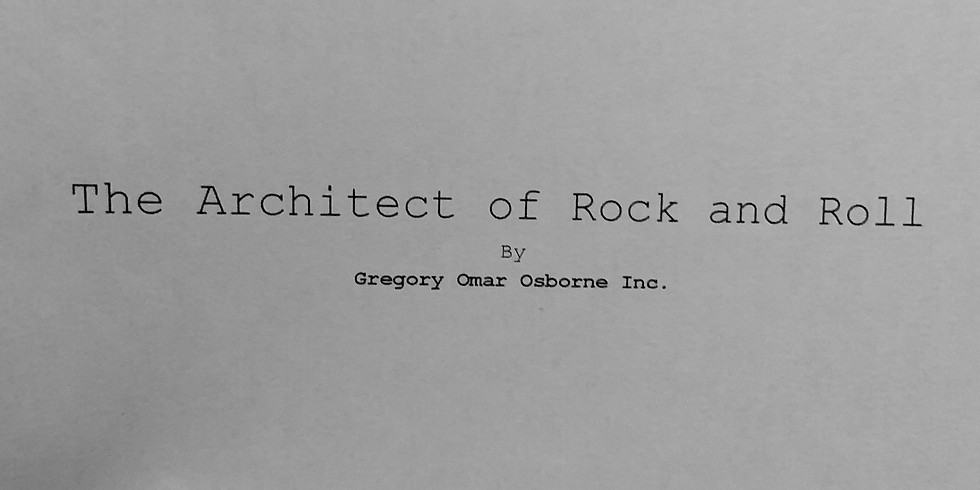 The Architect of Rock & Roll (Reading)