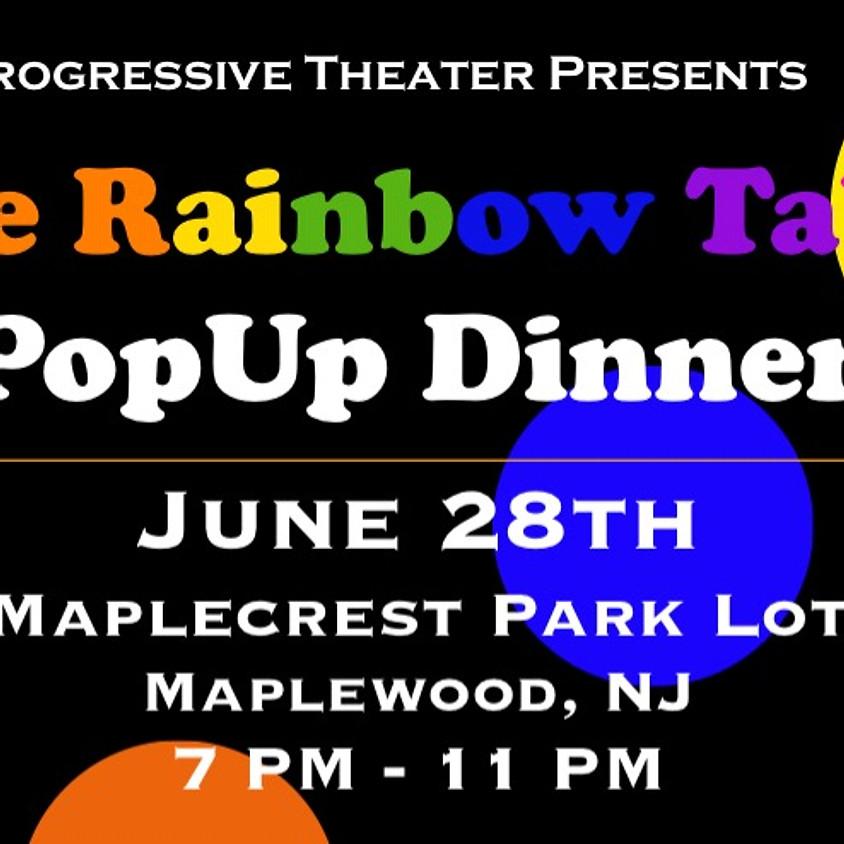 Rainbow Pop-Up Dinner
