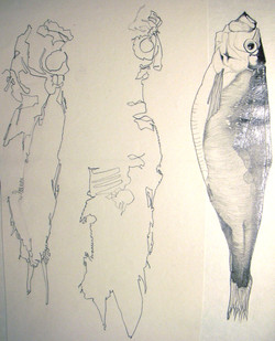 Fishman & little mermaid