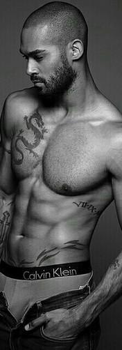 lamon-archey-torso-tattoos-calvin-klein.