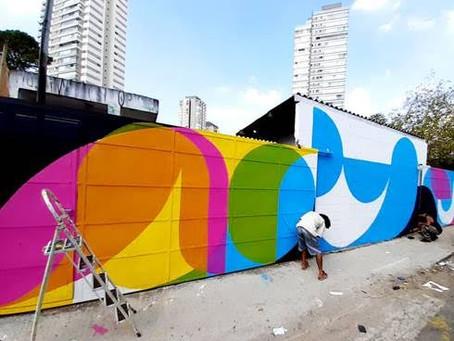 Idea!Zarvos convida grafiteiro Prozak para ação de gentileza urbana na Vila Madalena
