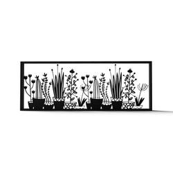Frame plants