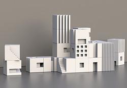 Town Building Blocks