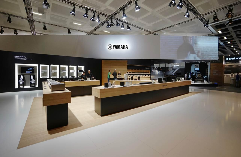 Yamaha booth at IFA 2017