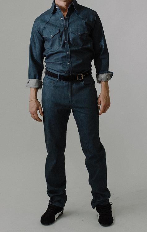 5 Pocket Jean (Classic Blue)