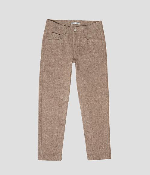 3 Pocket Jean (Taupe)