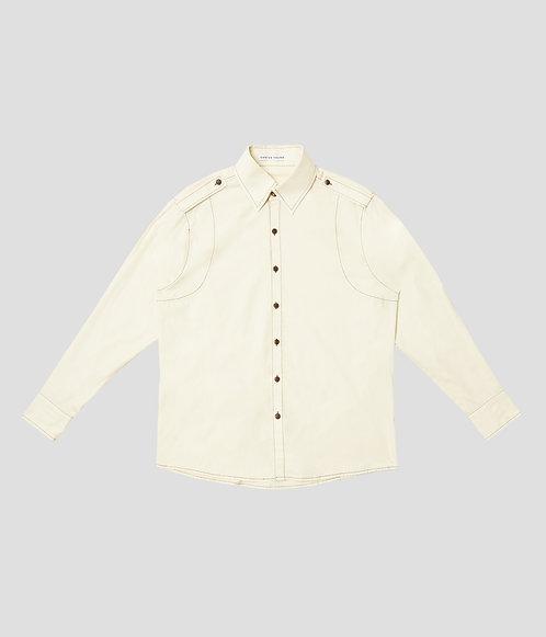 Varsity Button Up (Butter)