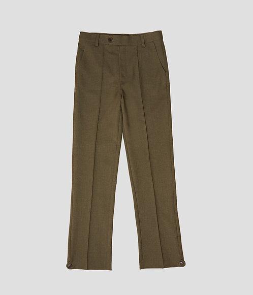 Pintuck Uniform Pant