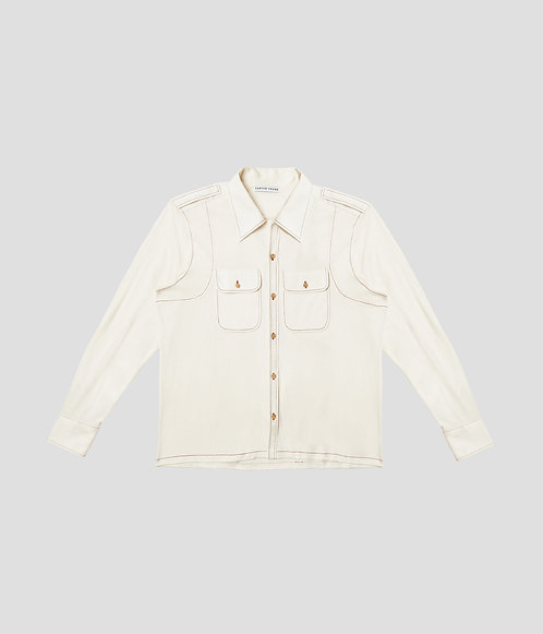 Spread Collar Button Up