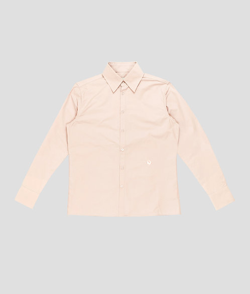 Nylon Logo Button Up