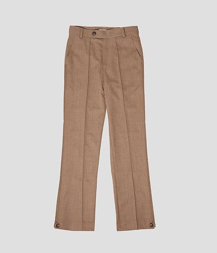 Pintuck Uniform Pant (Vegan)
