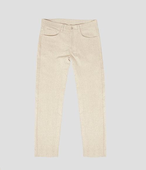3 Pocket Jean (Oatmeal)
