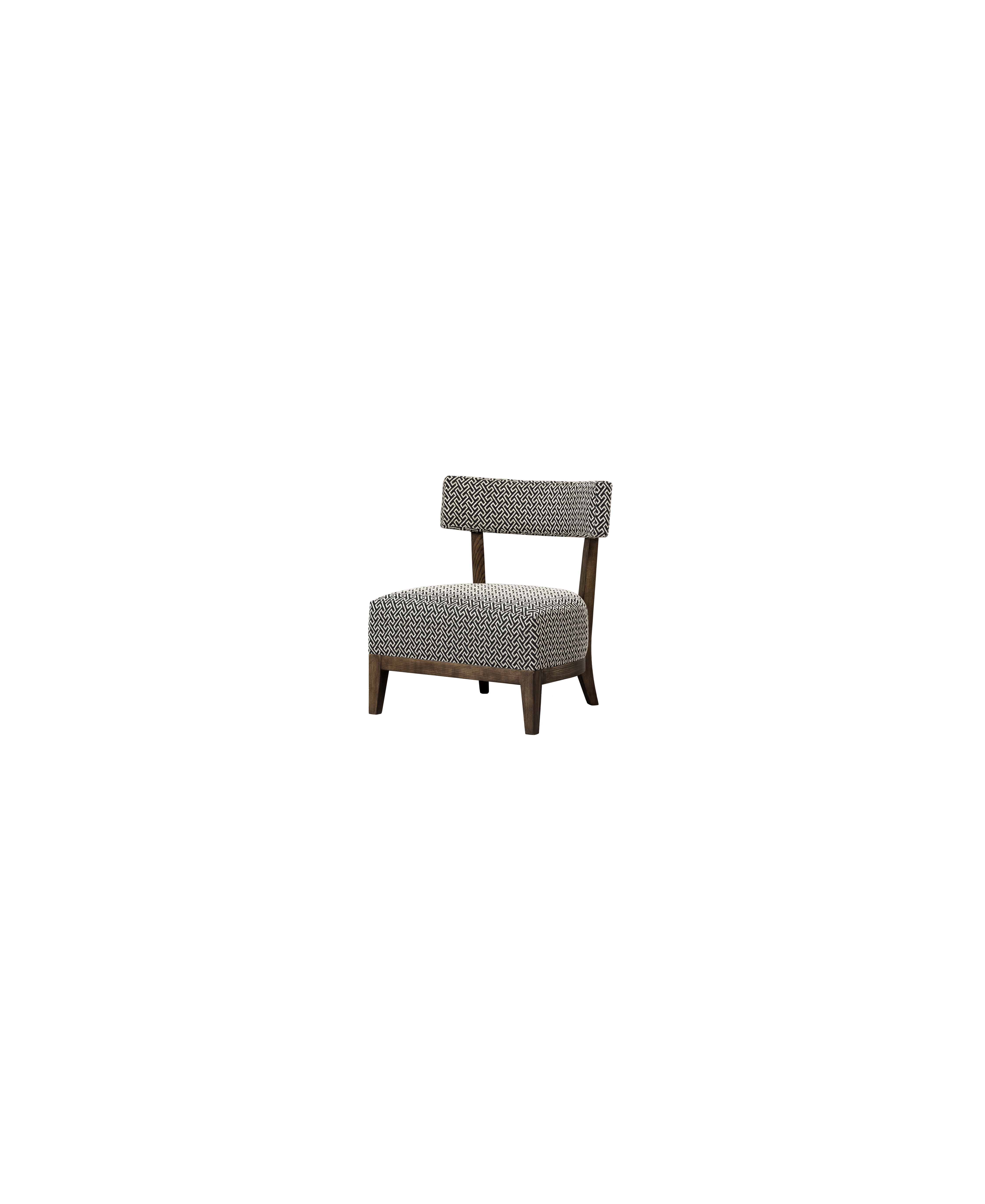 Coco Occasional chair - upholistered back