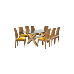 Contessa dining table & chairs