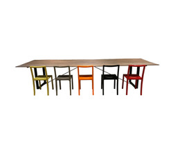 Framework table & chairs