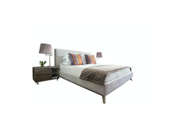 Andy headboard & box base with Stark ped