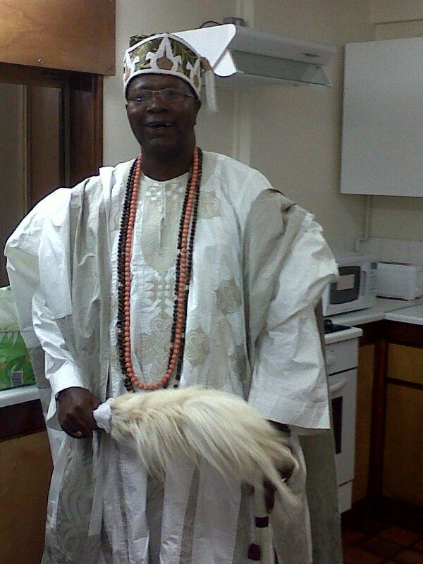HRH Oba (Dr) Toye Alatishe