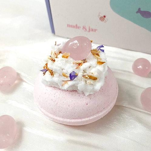 Rose Quartz Bath Bomb