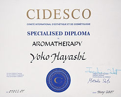 CIDESCO認定